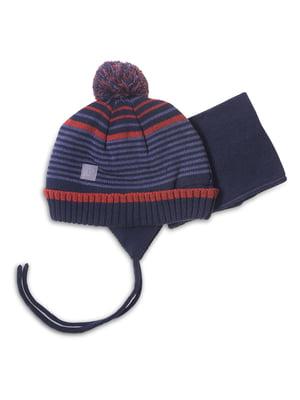 Комплект: шапка і манішка | 4781847