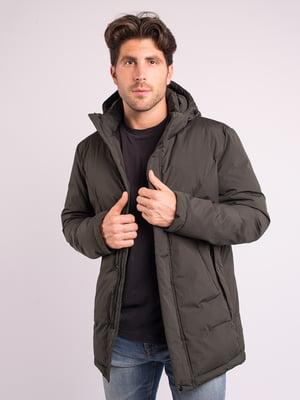 Куртка кольору хакі | 4779252