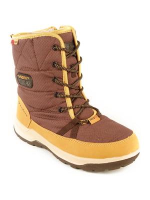 Ботинки коричневые | 4781943