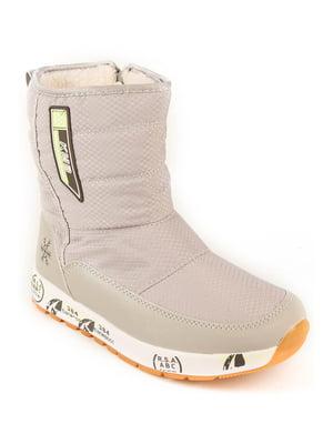 Ботинки серые | 4781946