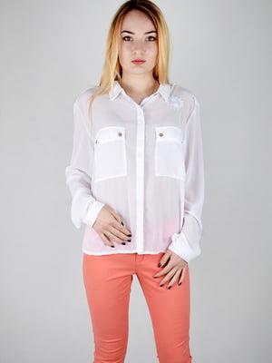 Блуза белая   4731246