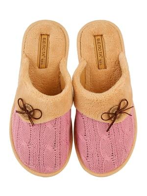 Тапочки рожеві | 4782906