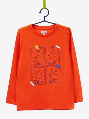 Лонгслів помаранчевий   4603826