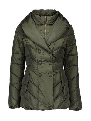 Куртка цвета хаки | 4666322
