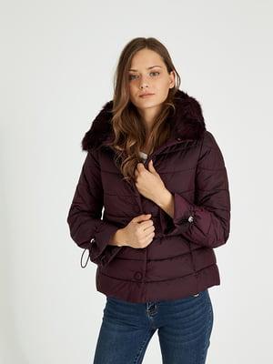 Куртка красно-фиолетовая | 4702519