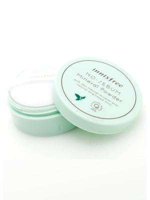 Мінеральна пудра для жирної шкіри No Sebum Mineral Powder (5 г) | 4782955