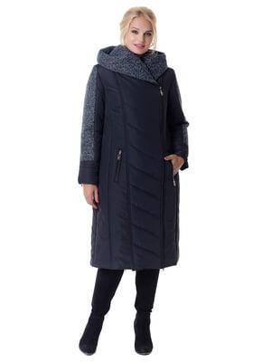 Пальто темно-синее | 4782973