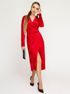 Платье красное | 4782990