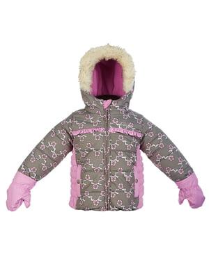 Куртка в принт | 4783514