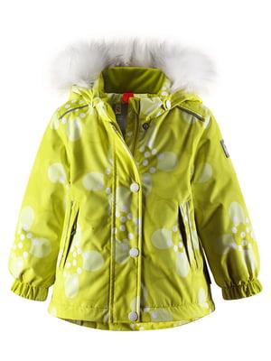 Куртка лимонного цвета | 4783666