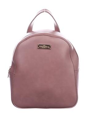 Рюкзак кольору пудри | 4781015
