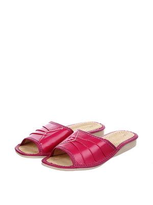 Тапочки рожеві | 4599446