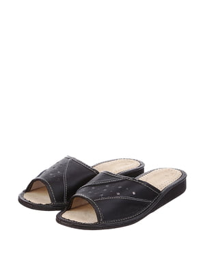 Тапочки черные | 4599450
