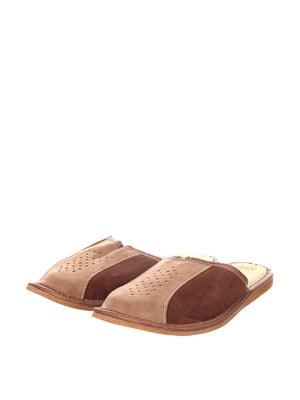 Тапочки коричневые | 4599514