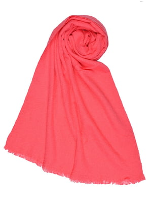 Шарф розовый | 4783697