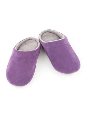 Тапочки фиолетовые | 4127050