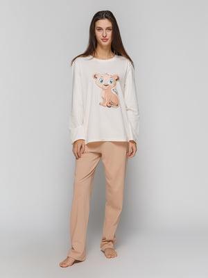 Пижама: лонгслив и штаны | 4782937