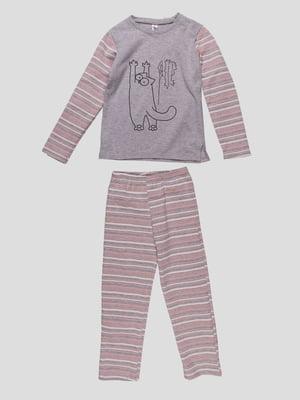 Піжама: лонгслів і штани | 4782934