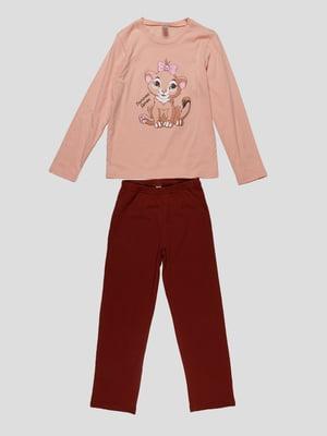 Піжама: лонгслів і штани | 4782935