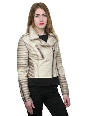 Куртка бежевая   4782801