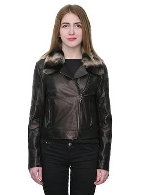 Куртка коричневая   4782821