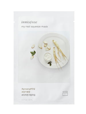 Маска My Real Squeeze Mask [Ginseng] (20 мл) | 4784783