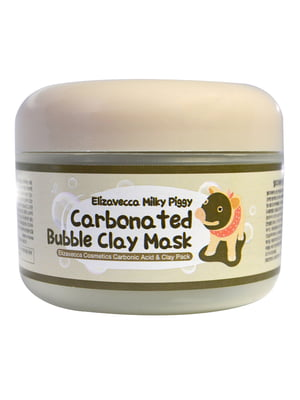 Маска для обличчя «Глиняно-бульбашкова» Milky Piggy Carbonated Bubble Clay Mask (100 мл) | 4784786
