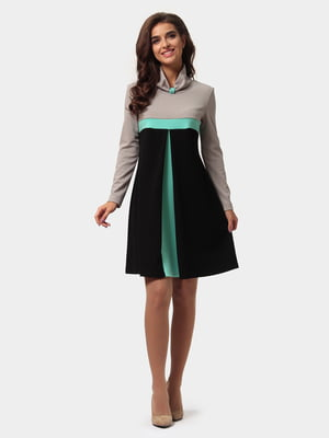 Сукня триколірна   4784875