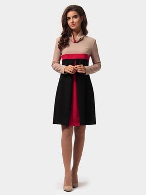 Платье трехцветное | 4784876