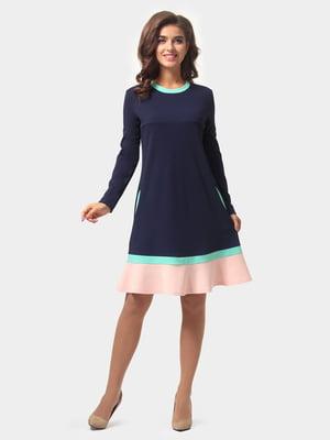 Сукня темно-синя | 4784895