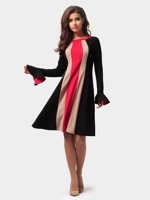 Платье трехцветное | 4784899
