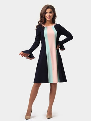 Сукня триколірна | 4784901