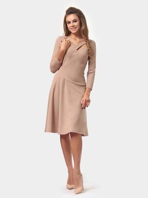 Сукня пісочного кольору | 4784909