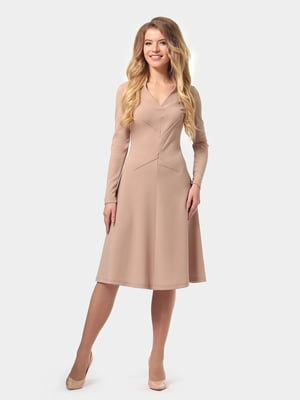 Платье песочного цвета | 4784920