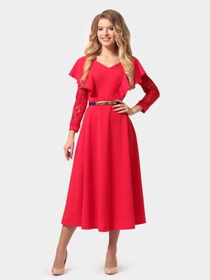 Платье красное | 4784922
