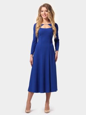 Сукня кольору електрик | 4784934