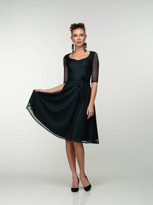 Сукня темно-зелена | 4785406