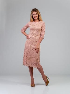 Платье розовое | 4785415