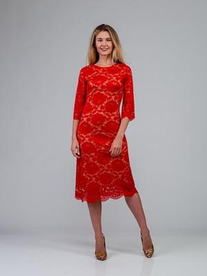 Платье красное | 4785416