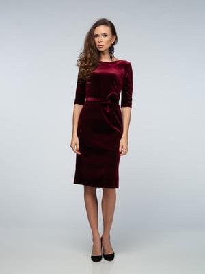 Сукня бордова   4785439