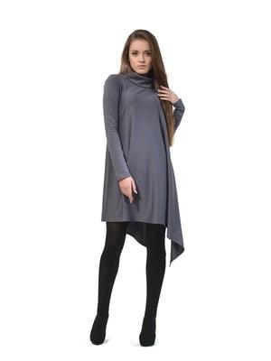 Платье-туника серое | 4723952