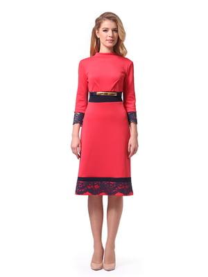 Сукня коралова | 4724097