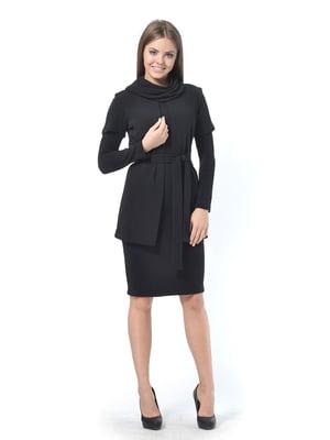 Комплект: платье, кардиган и воротник-хомут | 4724139