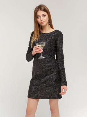 Сукня чорно-срібляста | 4784531