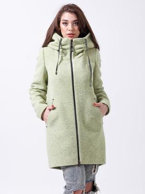 Пальто кольору лайма | 4466293