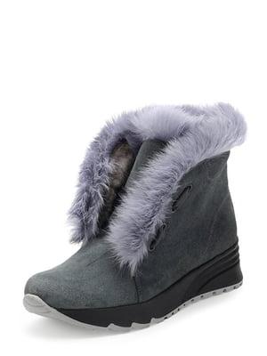 Ботинки серы | 4789149