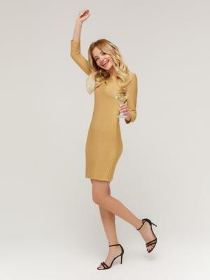 Платье золотистое | 4784535
