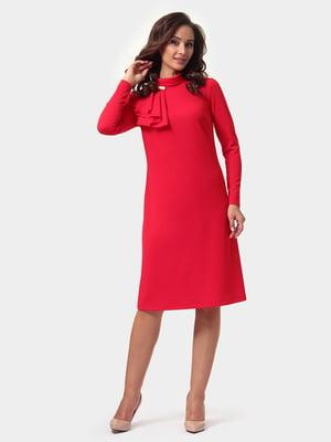 Платье красное | 4791588