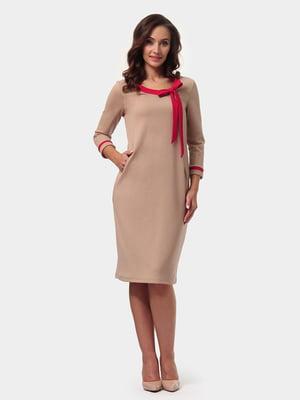 Сукня пісочного кольору | 4791596