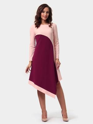 Платье двухцветное | 4791604